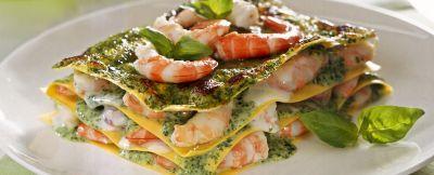 lasagne ai gamberi ricetta