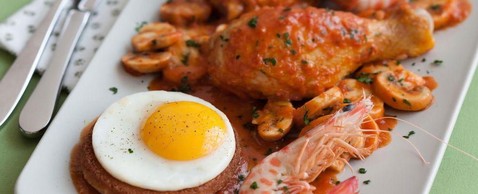 pollo alla Marengo Sale&Pepe ricetta