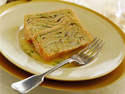 terrina di lasagne e salmone fresco ricetta