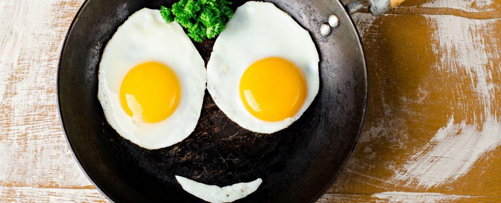 uova che sorridono