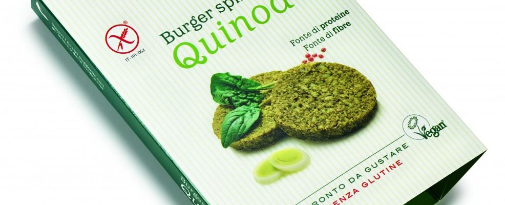 Burger Quinoa e spinaci