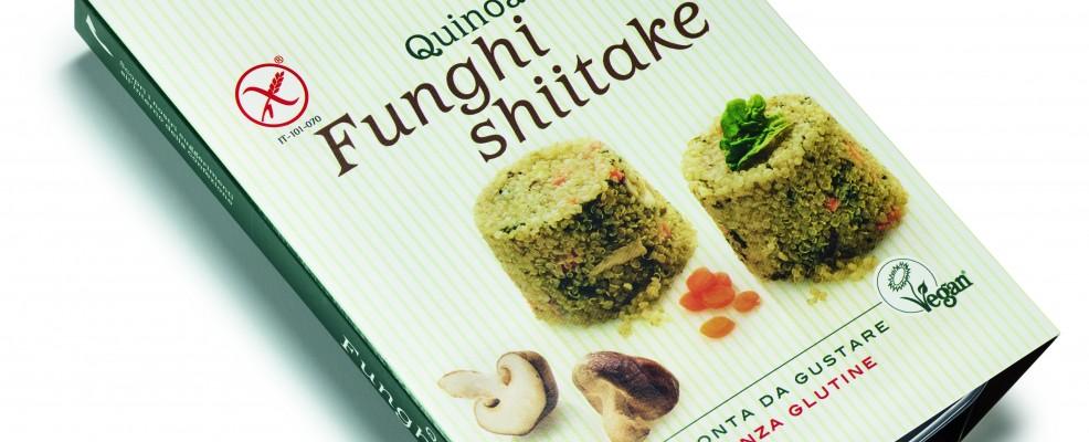 Quinoa funghi shijtake