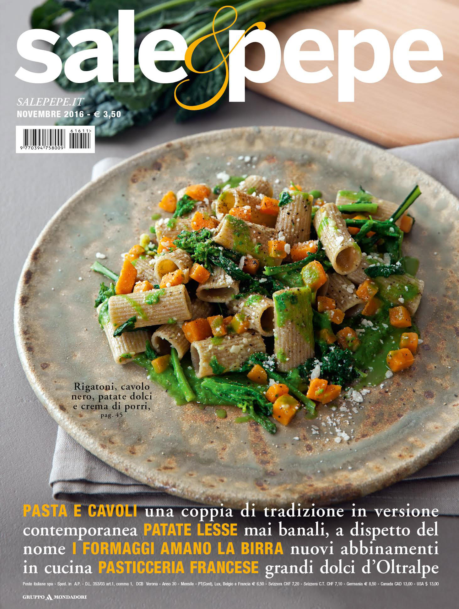 Sale&Pepe: scopri il numero di novembre 2016 - Sale&Pepe
