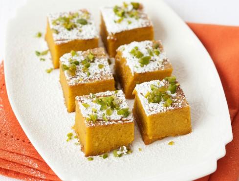 quadrotti di torta di zucca Sale&Pepe ricetta