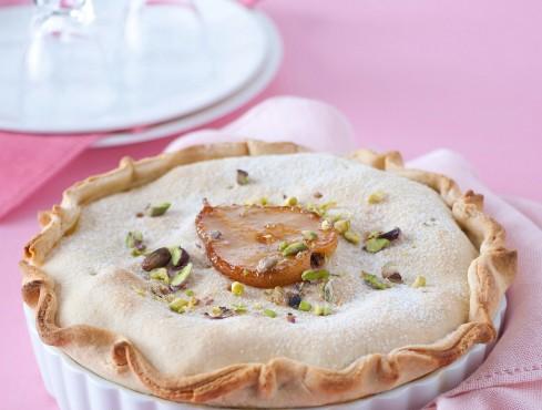 tarte con ricotta pere e pistacchi Sale&Pepe