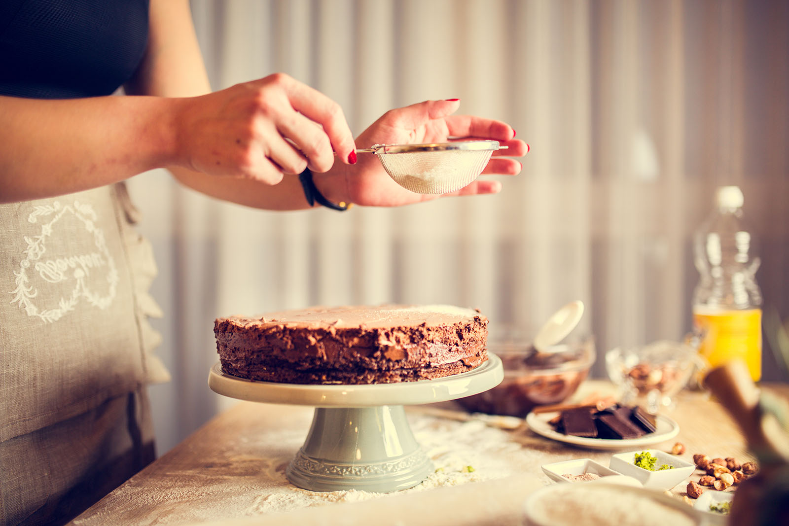 Idee Per Decorare Una Torta idee facili per decorare una torta   sale&pepe