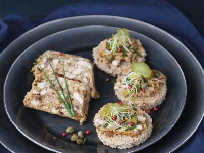 Sformato-di-tofu-con-porcini-e-noci