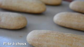 Éclair di Christophe Adam: la pâte à choux