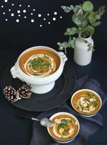 Zuppa invernale vegana