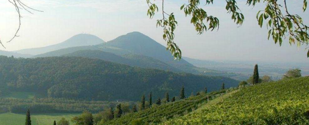 Veduta a sud Colli Euganei