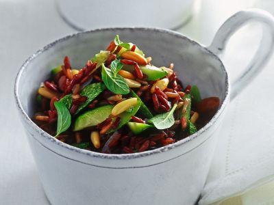 riso-rosso-zucchine-menta