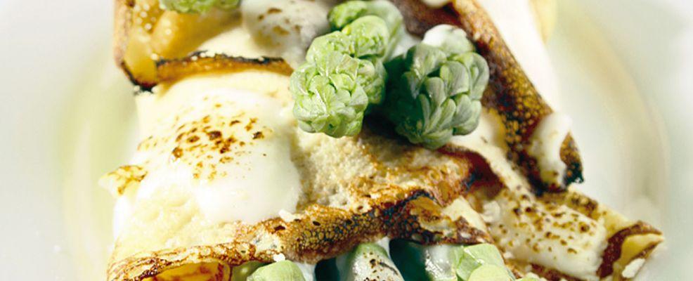 Crespelle agli asparagi ricetta Sale&Pepe