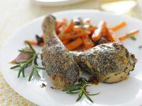Cosce di pollo aromatiche al forno