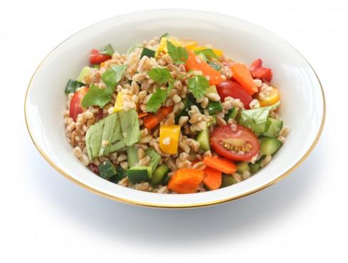 insalata-farro-peperoni-pomodorini ricetta Sale&Pepe