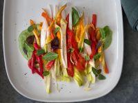 insalata-peperoni-fiori-zucca-salsa-verde ricetta Sale&Pepe