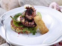 polpo-crostone-patate-mini-strudel-ricotta ricetta Sale&Pepe