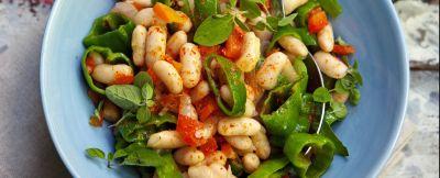 insalata-fagioli-friggitelli