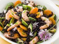 insalata-riso-nero-gamberetti-zucchine-carote ricetta Sale&Pepe