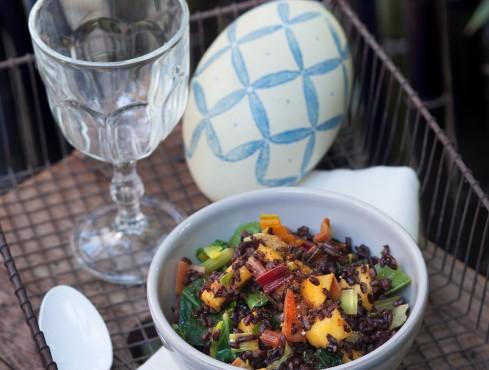 insalata-riso-nero-mango-olio-curry-ricetta Sale&Pepe