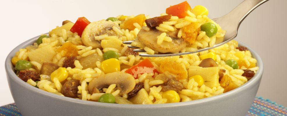 insalata-riso-zafferano ricetta Sale&Pepe