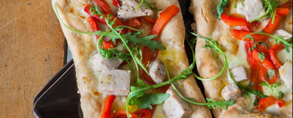pizza-farro-tonno-peperone ricetta Sale&Pepe