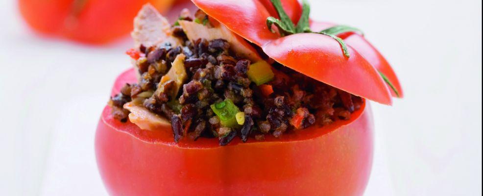 pomodori-riso-venere ricetta Sale&Pepe
