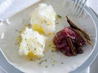 Carpaccio di baccalà, patate e confettura di cipolla ricetta Sale&Pepe