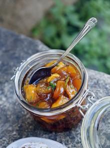 Confettura di mango al sapore di mojito
