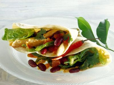 Tortillas-pollo-fagioli