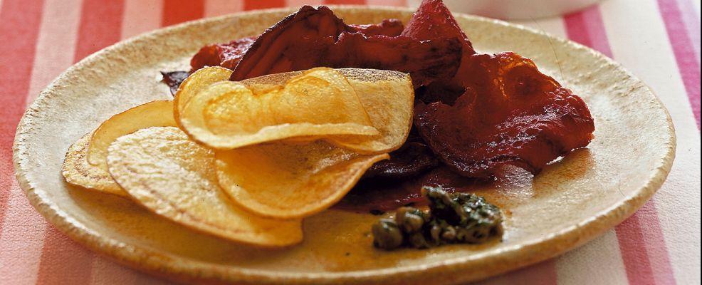 Chips di patate e barbabietole ricetta Sale&Pepe