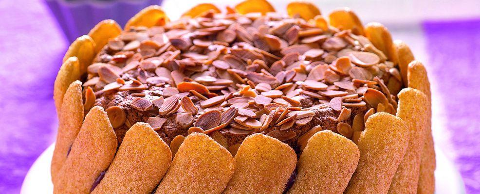 Torta cotta di biscotti e amaretti