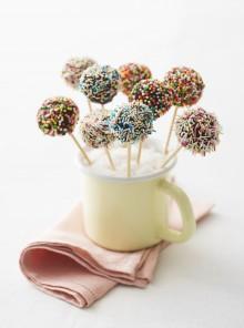 Cake pops arcobaleno