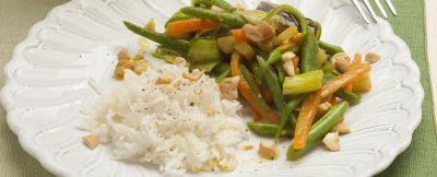 Riso pilaf con verdure al curry (1)