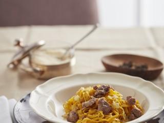 Tagliolini con la salsiccia di Bra ricetta Sale&Pepe