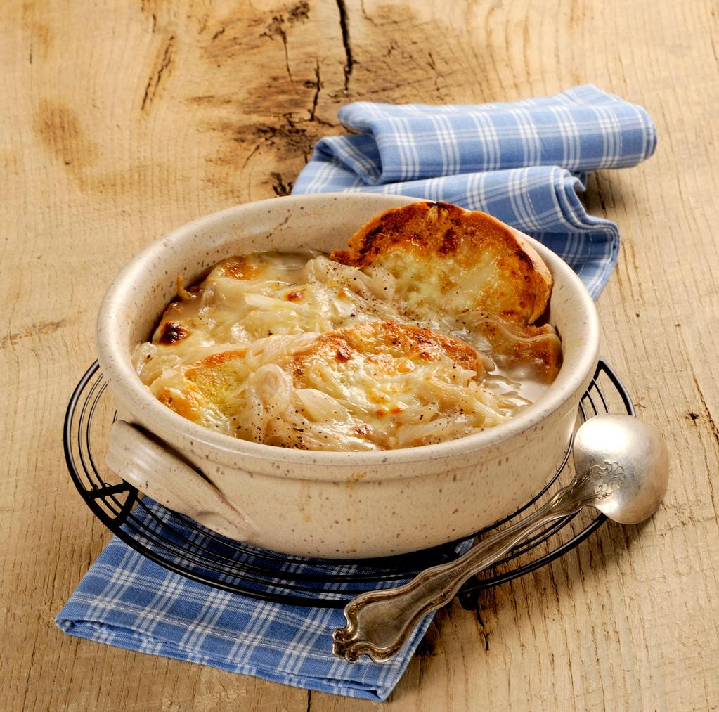 Ricetta Zuppa Cipolle Francese.Come Si Prepara La Zuppa Di Cipolle Sale Pepe
