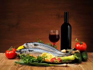 abbinamento vino rosso pesce salmone