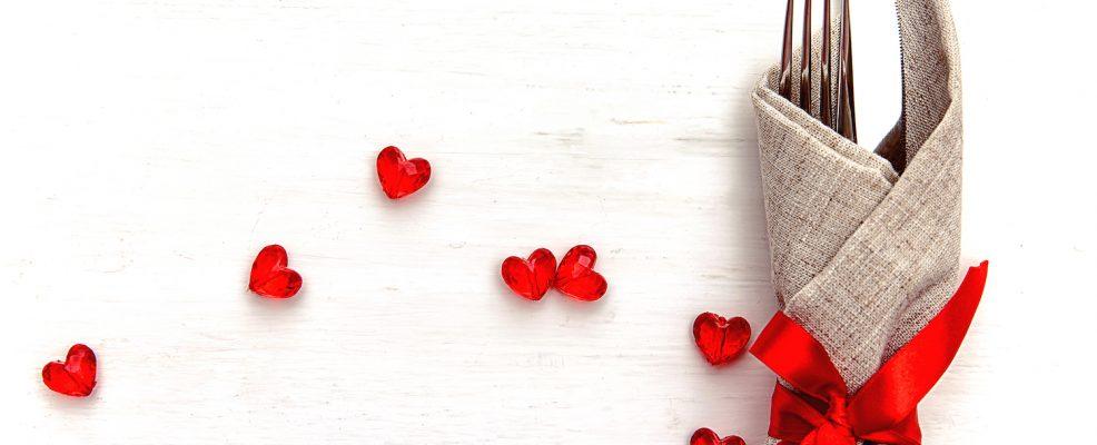 San Valentino tavola