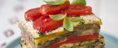 Parmigiana fredda di verdure miste