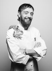 """Danilo Bei, chef del ristorante """"degli artisti"""""""