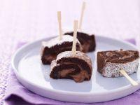 Rotolo alla crema di cacao e nocciole