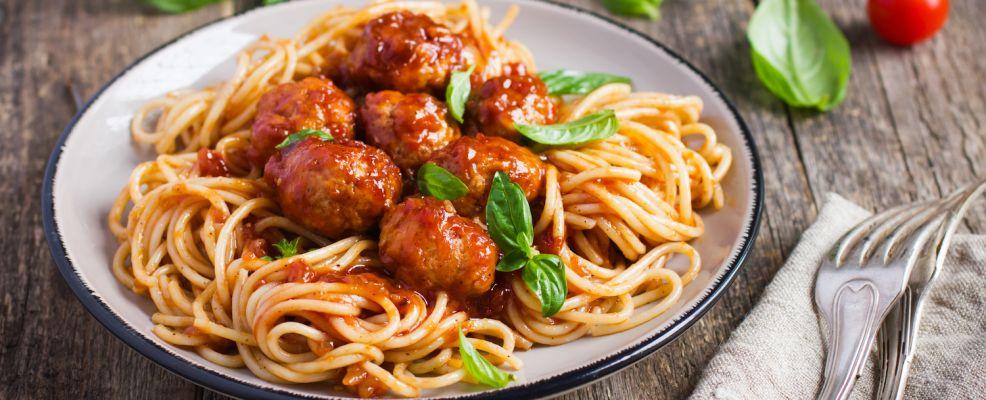False ricette italiane_spaghetti meatballs