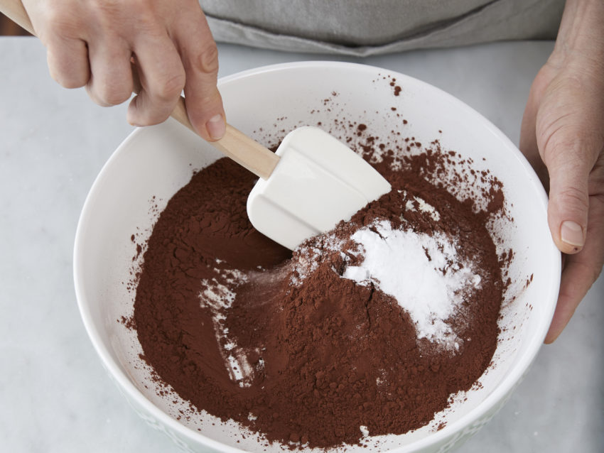 Torta al cacao vegana 1