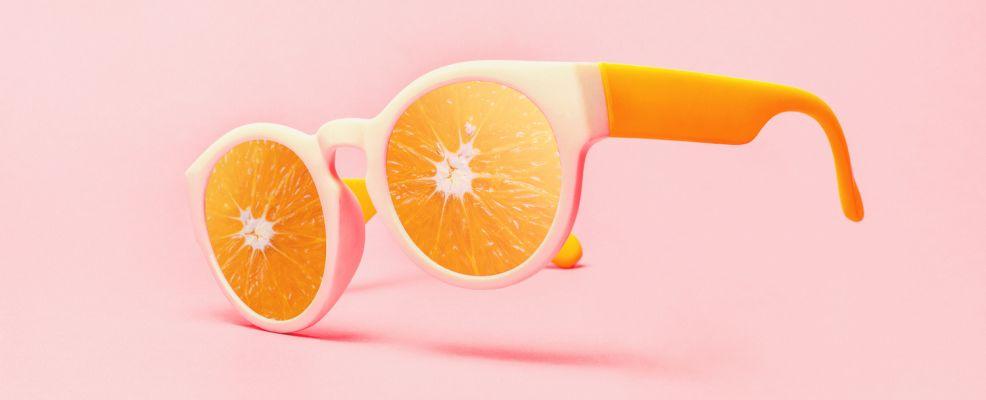 occhiali da sole arance tutto anno