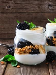 Quando lo yogurt diventa piatto unico