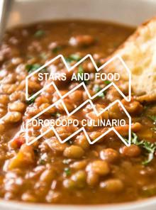 STARS AND FOOD - SETTIMANA DAL 20 AL 26 GENNAIO - ACQUARIO