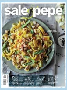 È in edicola Sale&Pepe di aprile... il cibo ci conforta