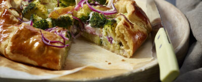 Quiche di broccoletti al gorgonzola