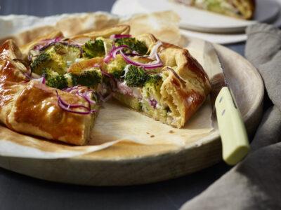 Quiche di broccoletti al gorgonzola