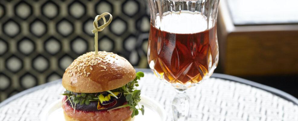 Hamburger con salmone