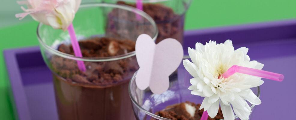 cioccolato nel vasetto